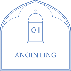 St. Mary's Cathedral - Anointing
